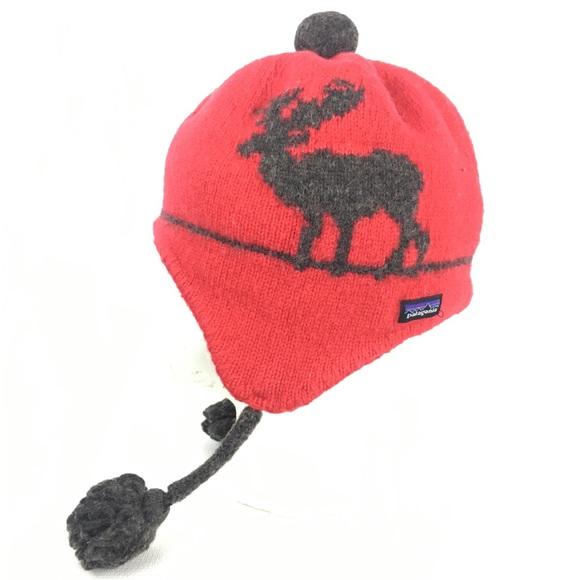 Youth Kids Patagonia Nordic Winter Hat Wool. M 5b86b3f69264afe89febf777 1c179f89679